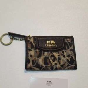 Coach Accessories - Coach Small Change Purse With Care Instructions